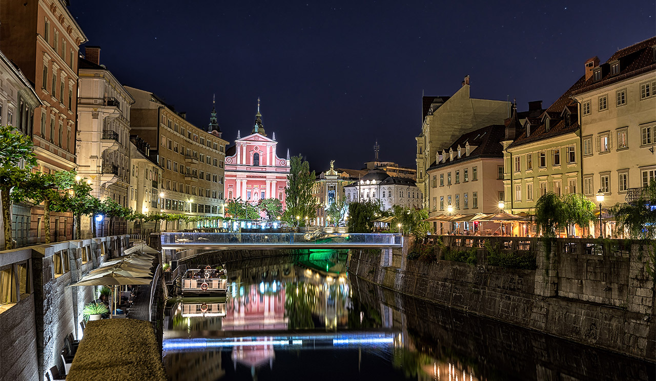 Hanging out in Ljubljana